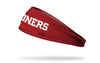 University of Oklahoma: Sooners Red Headband