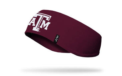 Texas A&M University: Logo Maroon Ear Warmer