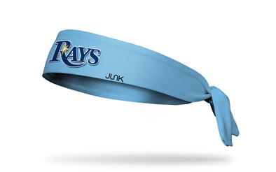 Tampa Bay Rays: Home Light Blue Tie Headband