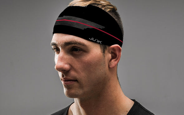 Tennessee Thin Red Line Headband