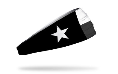 Texas Monochrome Flag Headband