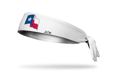 Texas Rangers: Lone Star White Tie Headband