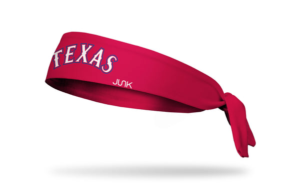 Texas Rangers: Home Red Tie Headband
