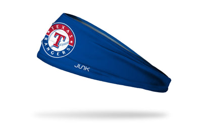 Texas Rangers: Logo Blue Headband
