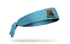 UCLA: Bear Heathered Tie Headband