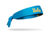 UCLA: Wordmark Blue Tie Headband