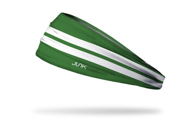 Varsity Stripe (Green) Headband