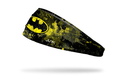 Warner Brothers Batman headband grunge