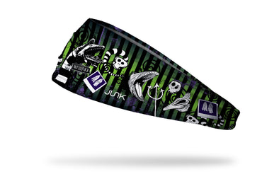 Warner Brothers Beetlejuice themed headband