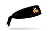 black headband with Looney Tunes Daffy Duck oversized face view design