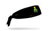 black headband with Looney Tunes Marvin the Martian oversized face view design