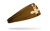 brown headband with Looney Tunes Wile E. Coyote oversized face view design