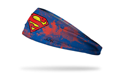 Warner Brothers Superman headband grunge