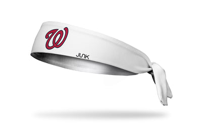 Washington Nationals: White Tie Headband
