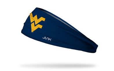 West Virginia University: Logo Navy Headband