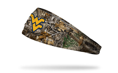West Virginia University: Logo Realtree Edge Headband