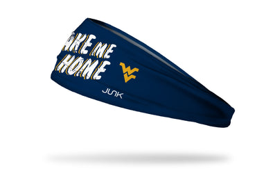 West Virginia University: Take Me Home Headband