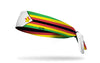headband with traditional Zimbabwe flag design