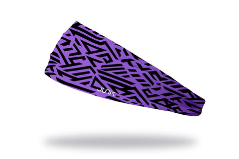 Lazer Tag / Purple Headband