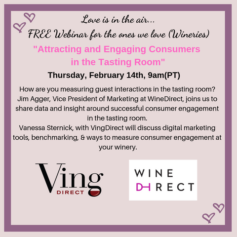 FREE Webinar: Attracting and Engaging Consumers in the Tasting Room