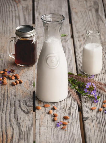 Homemade Raw Almond Milk Recipe