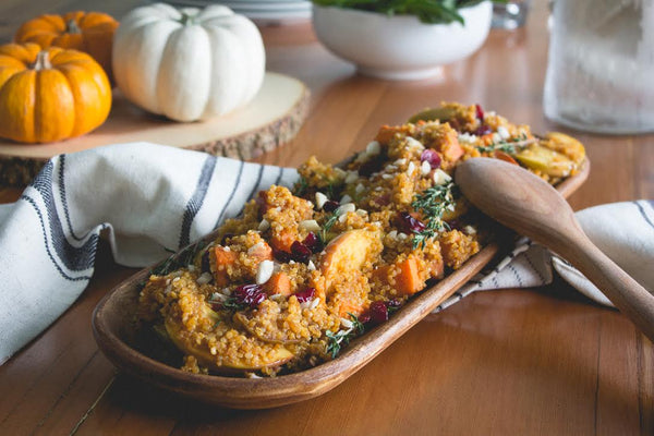 Quinoa Sweet Potato Stuffing