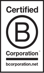 We are a B Corporation