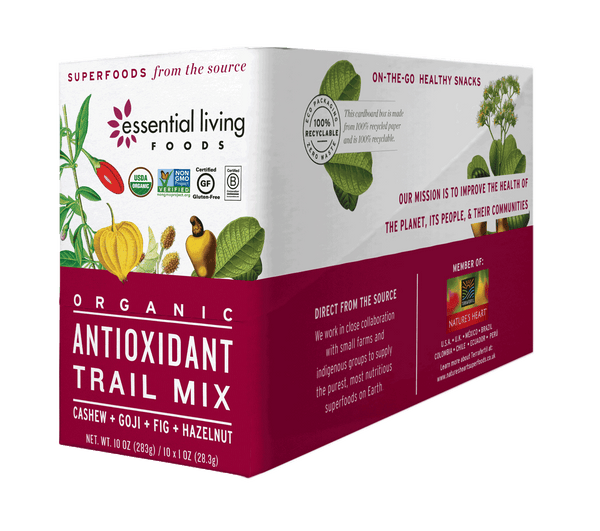 Antioxidant Trail Mix 1oz. (Box of 10)