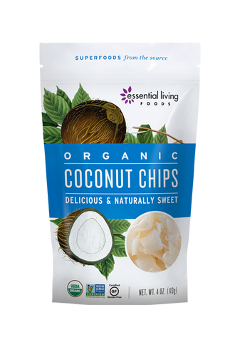 Organic Coconut Chips 4oz Bag