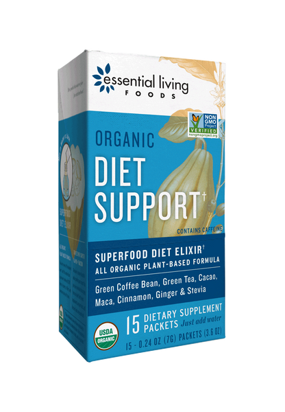 Essential Living Foods Organic Diet Support Supplement Pack