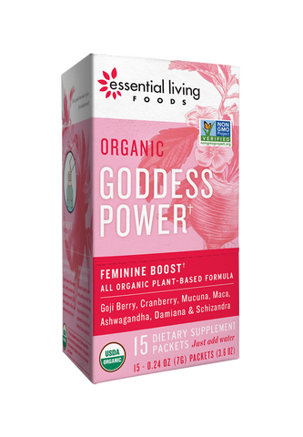 Organic Goddess Power Supplement Box