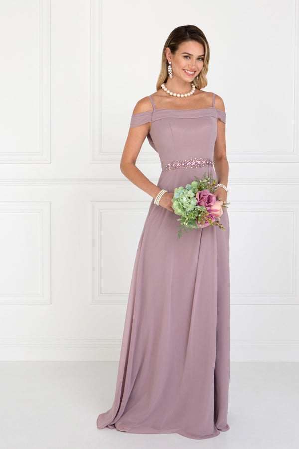Mauve Bridesmaid Dress