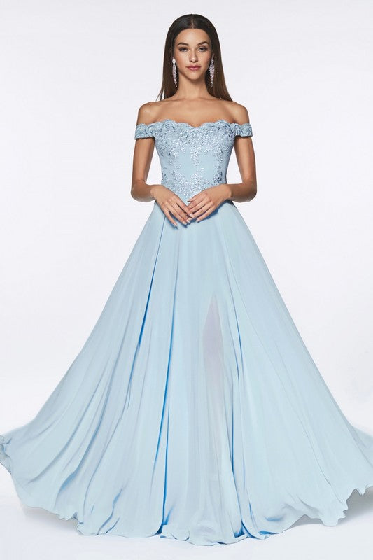 Powder Blue Bridesmaid Dress