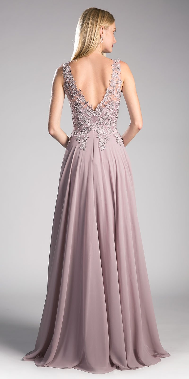Upscale Floor Length Bridesmaid Dress in 6 colors