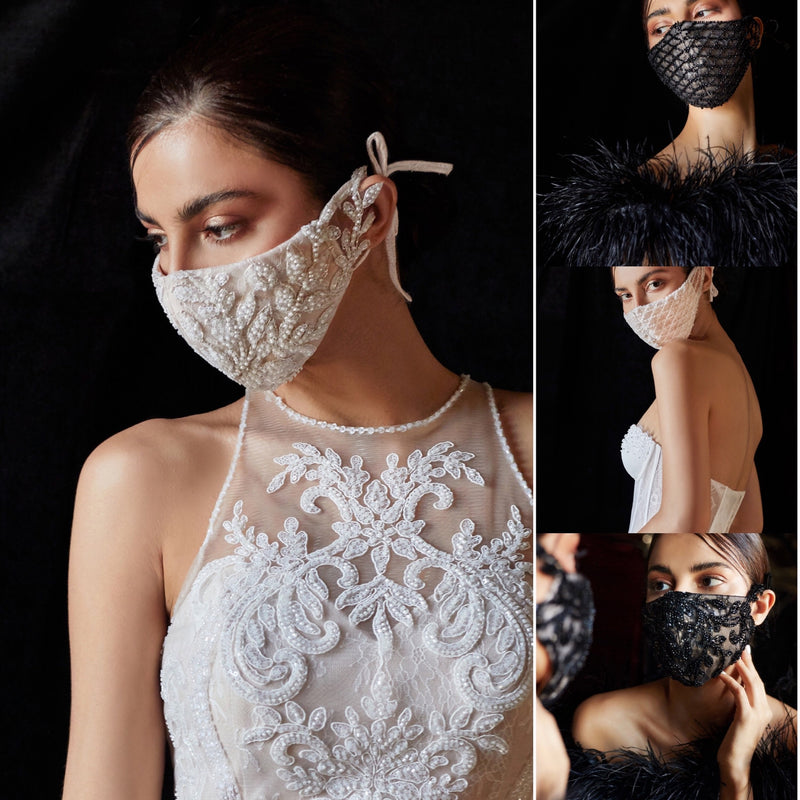 Formal Luxury Black mask, Beaded Black Mask, Formal Mask, Prom mask, bridal mask, wedding mask, luxury mask, designer mask
