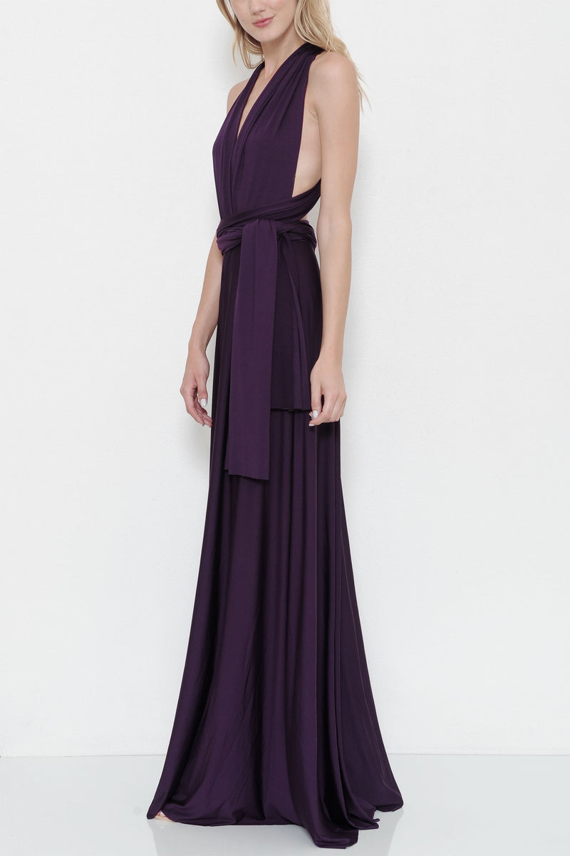 Affordable Convertible Maxi Bridesmaid Dress in 3 colors