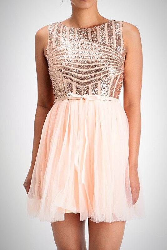Affordable short sequin rose gold bridesmaid dress tulle party dress rose gold sequin dress affordable short sequin rose gold bridesmaid dress tulle party dress prom evening homecoming junglespirit Image collections