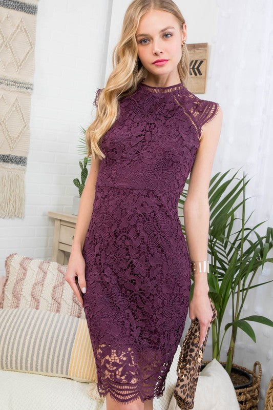 Fall wedding Plum dress