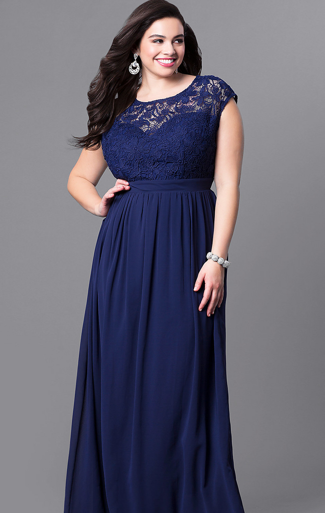 Our Choice of Top Plus Size Navy Blue Bridesmaid Dresses ...