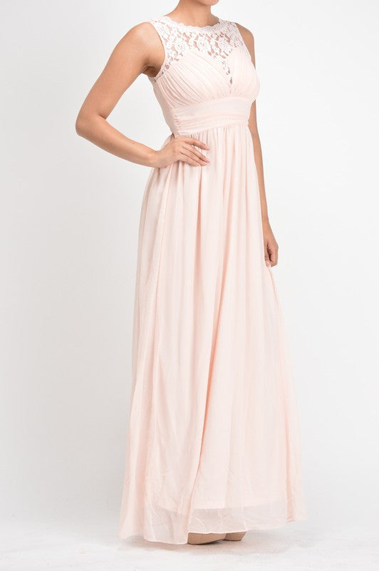 Affordable chiffon long Bridesmaid Dress Coral, Pink and Sky Blue