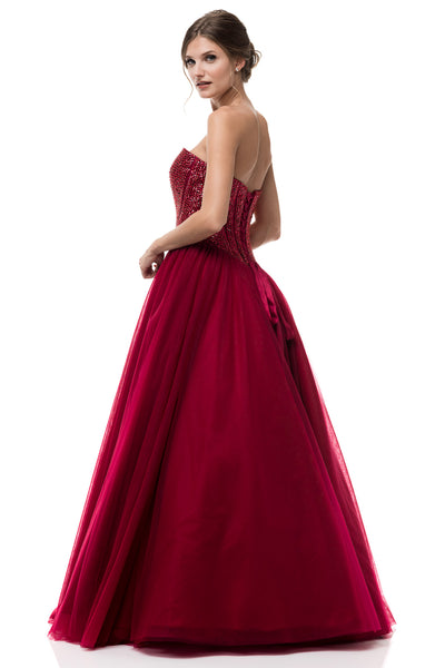 Scarlett Red Gown