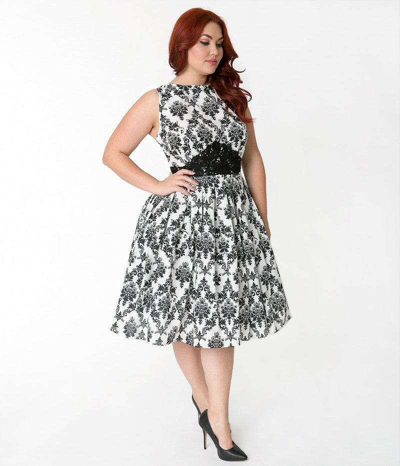 Swing Plus size dress