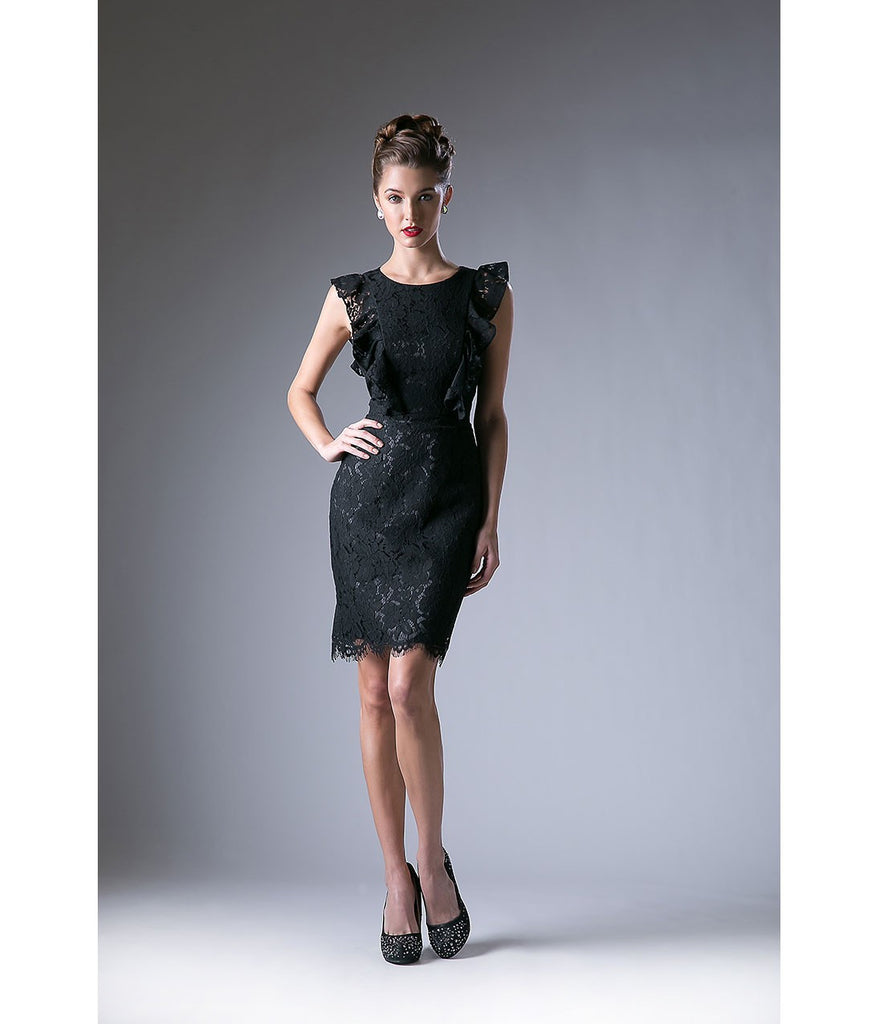 Black Wedding Guest Dresses