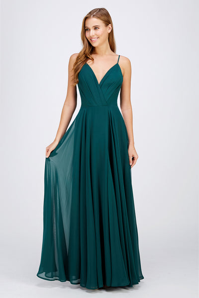 Hunter Green Bridesmaid Dress