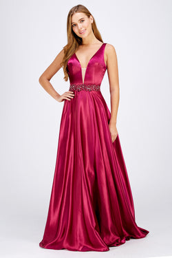 Fuchsia Bridesmaid Dress