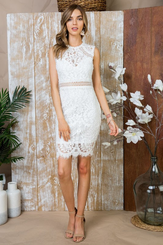 Bridal Shower off white dress
