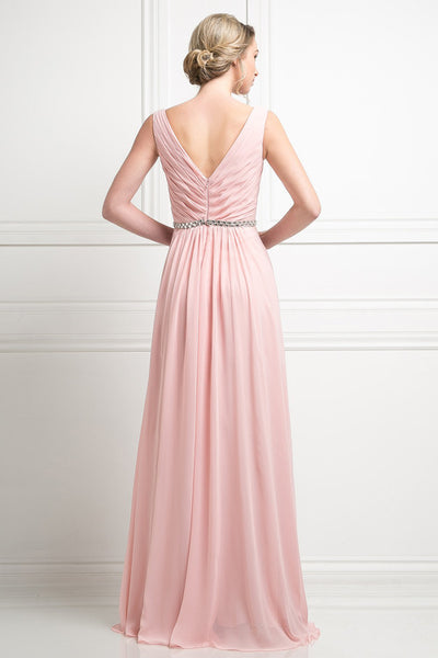 Affordable Pleated Classy Party Prom Bridesmaid Dress In 5 Colors 4 1 Frugal Mughal