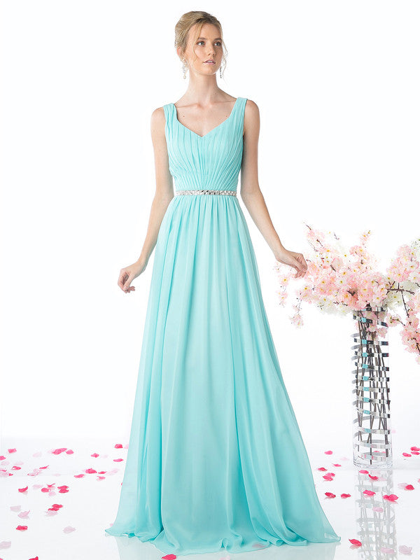 Affordable pleated classy Party Prom Bridesmaid dress in 5 colors 4- 18