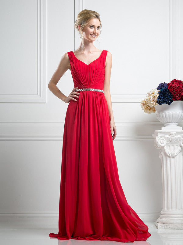 Affordable pleated classy party prom bridesmaid dress in 5 for Frugal fannies wedding dresses