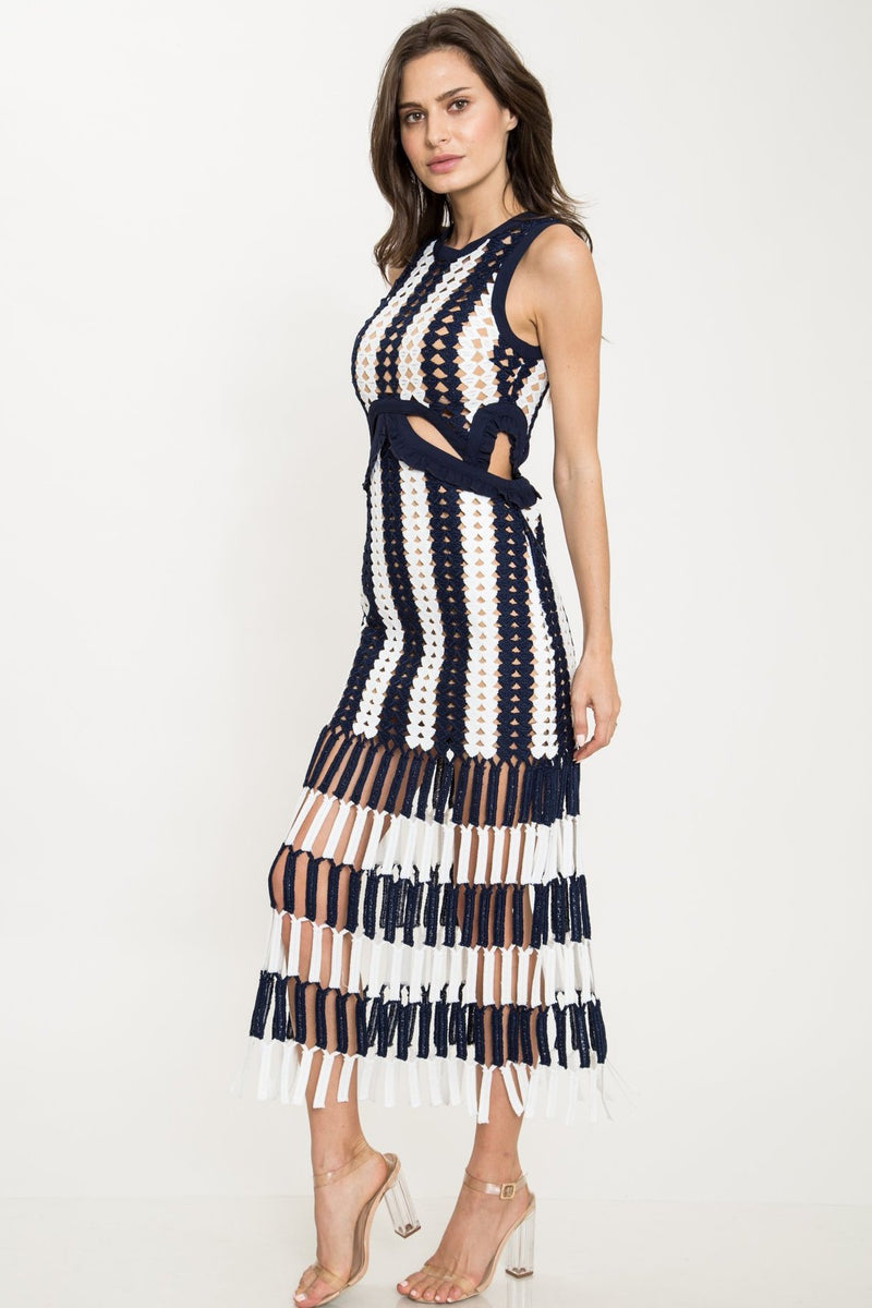 Rent the runway self portrait dress